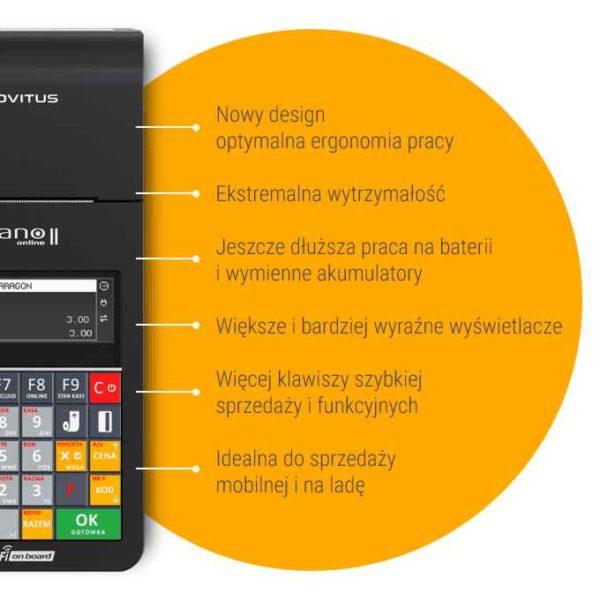 Zalety kasy Novitus Nano 2 Online